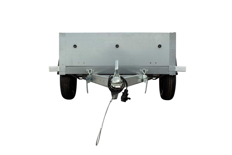 Rimorchio auto leggero Garden trailer 200 anteriore