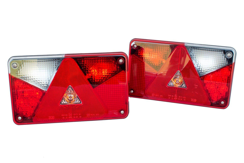Zestaw Lamp Tylnych Zespolonych Aspöck Multipoint V Led Prawalewa